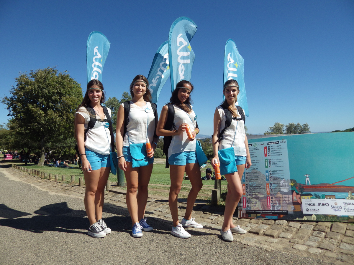 Brand activation, events